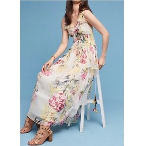 Floral Maxi Dress by Love Sam for Anthropologie